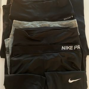 Lot of 5 Workout Gym Nike Under Armour Bayleaf